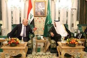 تقدیر حیدرالعبادی از ملک سلمان پادشاه عربستان