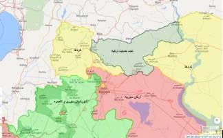 ورود ارتش ترکیه به شمال سوریه