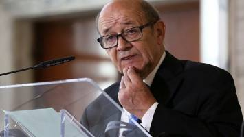 سفر وزیر خارجه فرانسه به ایران در اسفندماه