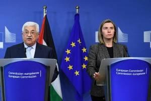 محمود عباس: اروپا فلسطین را به عنوان کشوری مستقل به رسمیت بشناسد