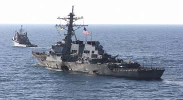 افزایش نیروهای نظامی آمریکا در سواحل سوریه - پایان ضرب الاجل