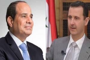 اعلام حمایت دولت السیسی از دولت اسد