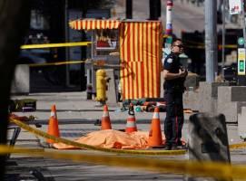 افزایش آمار کشته و زخمی در پی حمله با خودرو در تورنتو کانادا