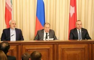 دیدار وزیران خارجه ترکیه، روسیه و ایران
