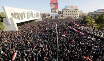 طرفدارهای مقتدا صدر یکبار دیگر در خیابان های بغداد را هپیمای کردند