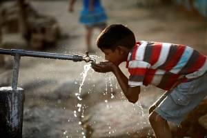 قطعی آب در سبد کالای مردم اهواز