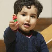 مصدومیت کودک سه ساله با افتادن از سرسره
