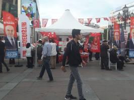 استانبول در تب و تاب انتخابات