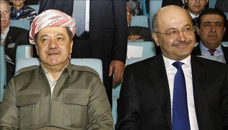 حزب دموکرات کردستان، حامی یا مخالف برهم صالح؟