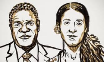 جایزه صلح 2018 در دستان نادیا مراد دختر کُرد ایزدی و دنیس موکویگی کنگویی