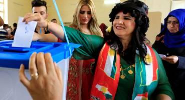 حزب دموکرات 44 کرسی و اتحادیه میهنی کردستان 21 کرسی
