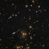 ثبت شکلک خنده در فضا توسط تلسکوپ