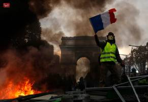 فرانسه در آتش خشم معترضان
