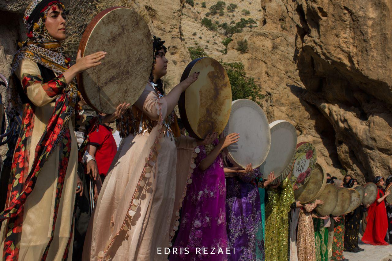 جشنواره میوه های بهشتی در ریجاب کرمانشاه