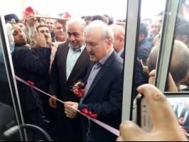 افتتاح بیمارستان 106  تختخوابی قدس پاوه بعد از 10 سال