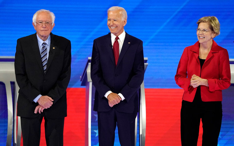 بایدن، وارن و سندرز؛ رقیب ترامپ کیست؟