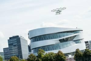 موفقیت ولوکوپتر در اولین تست پرواز شهری