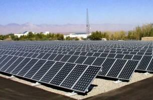 اولین نیروگاه خورشیدی در شهرک های صنعتی کرمانشاه احداث شد
