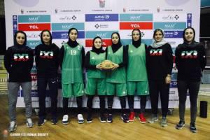 تیم ملی بسکتبال سه نفره دختران در راه چین + برنامه بازیها