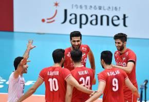جام جهانی والیبال؛ ایران 3-1 استرالیا