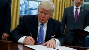 صدور مجوز اعمال تحریمهای شدید علیه ترکیه توسط ترامپ
