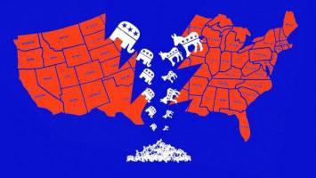 سایه مخرب دوگانه حزبی در آمریکا