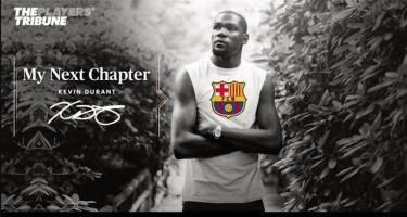 کوین دورانت: دوست دارم در بارسلونا بازی کنم