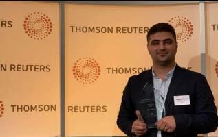 جایزه بین المللی روزنامه نگاری به یک کُرد تعلق گرفت