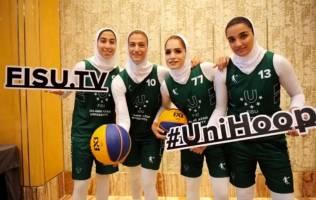 صعود دختران بسکتبال سه نفره ایران به جمع 4 تیم برتر جهان