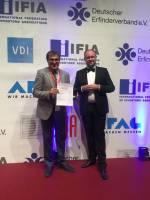 محقق ایرانی جایزه نمایشگاه  نورنبرگ آلمان را از آن خود کرد