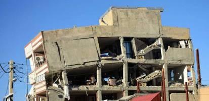 پس لرزه 7887 باره کرمانشاه بعد از زلزله 7.3 ریشتری