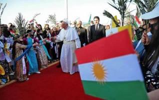 پاپ فرانسیس: کردستان به خانه مسیحیان تبدیل شده است