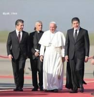 پاپ فرانسیس: کردستان عراق به خانه مسیحیان تبدیل شده است