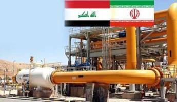 صادرات 27 میلیارد متر مکعبی گاز ایران به عراق