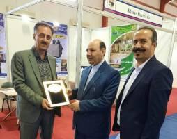 تقدیر از مجریان نمایشگاه توانمندیهای ایران در اربیل