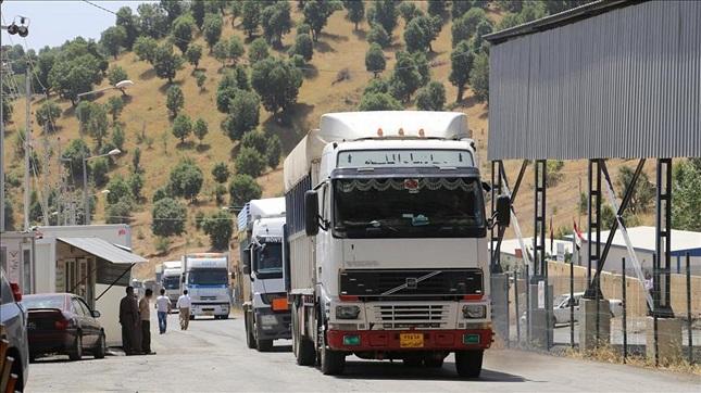 میزان صادرات از مرز مهران به عراق و اقلیم کردستان چه میزان است؟
