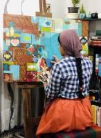 طبیعت، جامعه و بخصوص زنان کردستان الهامبخش نقاشیهایم هستند
